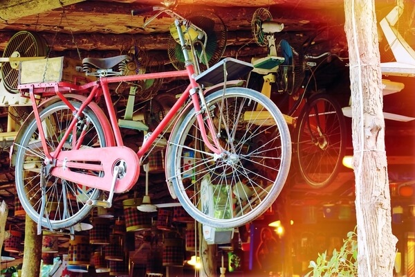 Space-Saving Tip: Hang Your Bikes in the Garage