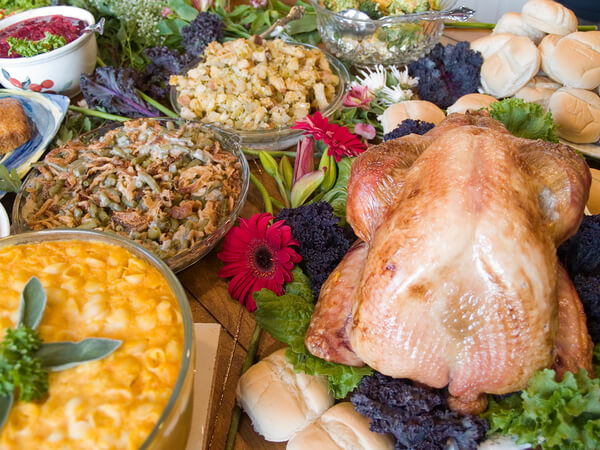 Thanksgiving Dinner in the Garage: Yes, It Can Be Done!