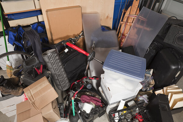 How to Confront and Clean a Massively Cluttered Garage